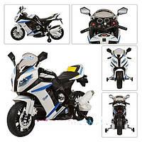 Мотоцикл детский аккумуляторный лицензионный Bambi BMW HA528 (S1000),(М 2769) белый
