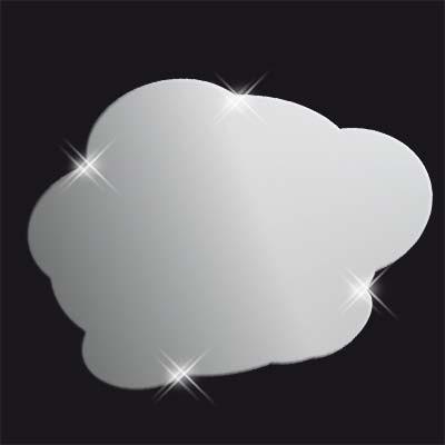 Декоративное акриловое зеркало «Облако», Juergen