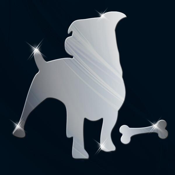 Декоративное акриловое зеркало «Пёс», Juergen