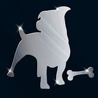 Декоративное акриловое зеркало «Пес», Juergen
