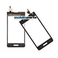 Сенсор (Тачскрин) для LG P710 | P713 | L7 II (Оригинальный, Китай) (Черный)