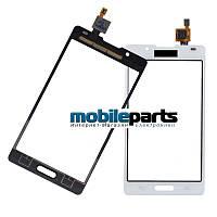 Сенсор (Тачскрин) для LG P710 | P713 | L7 II (Оригинальный, Китай) (Белый)