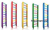 Шведские стенки из дерева (цветные) для детских садов, фото 1