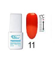 Термо гель-лак VELENA Gelliant 11 Красно-кирпичный