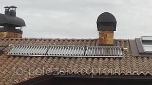 Развоздушивание солнечных коллекторов. Киев и область.