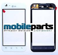 Оригинальный Сенсор (Тачскрин) для LG P970 Optimus (Белый)