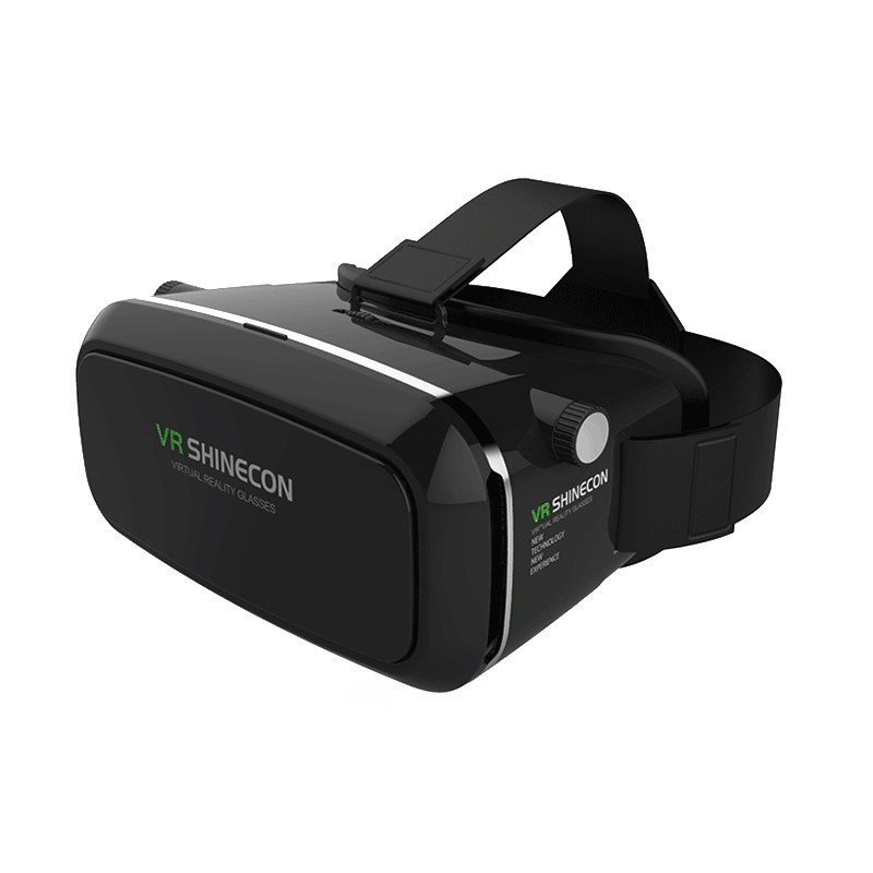 Очки виртуальной реальности VR Shinecon 3D Glasses Black + пульт