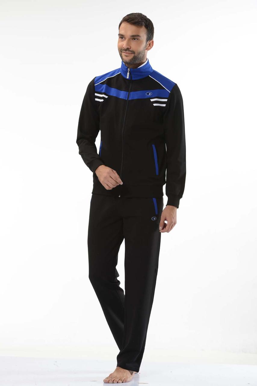 01b1a25a7ed0 Мужские спортивные костюмы доставка по украине пр-во Турция FM14670 Black