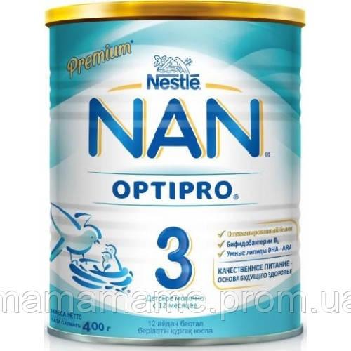 Nestle Молочная смесь NAN 3 400 г