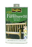 Масло для садовой мебели GARDEN FURNITURE OIL 500 мл