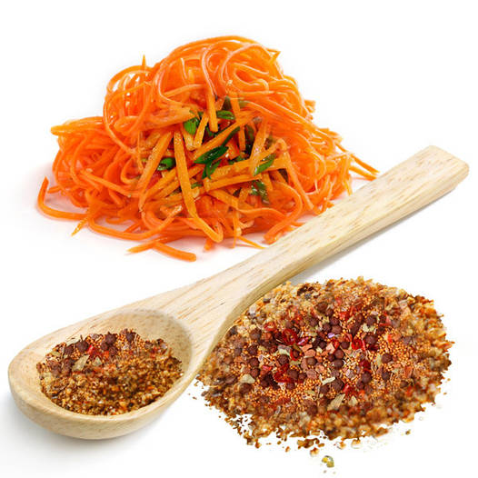 "Приправа до моркви ""по-корейськи"" гостра, вага"