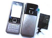 Корпус Nokia 6300 серебристый + клавиатура High Copy