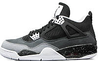 Баскетбольные кроссовки Nike Air Jordan IV Retro, Найк Аир Джордан ретро серые