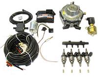 Комплект STAG-4 Q-BOX BASIC, ред. Gurtner Basic 245 л. с., форс. Hana Single кр, распр, штуцера. 1-1