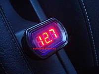 Вольтметр автомобильный (цифровой) 12в-24в
