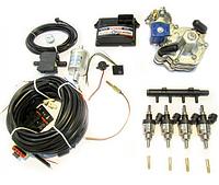 Комплект STAG-4 Q-BOX BASIC, ред. Tomasetto Alaska, форс. Hana Rail червоні, МН сталь, фільтр 1-1