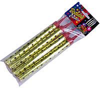 Фейерверки для торта (холодный фонтан) (150mm/4шт), свечи фейерверки