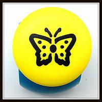 Дырокол фигурный Бабочка 3D кнопка 2,5 см