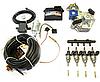 Комплект STAG-4 Q-BOX BASIC, ред. Tomasetto Alaska, форс. Hana Single черные, распред, фильтр 1-1