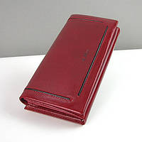 Темно-красный кошелек Bl Balli кожаный женский, фото 1