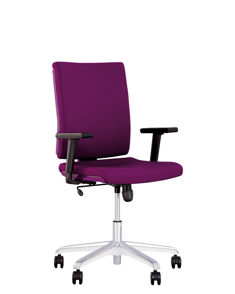 Кресло офисное Madame R пластик фиолетовый механизм Tilt крестовина AL70, ткань CN-204 (Новый Стиль ТМ)
