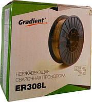 Сварочная нержавеющая проволока ER 308L 0,8 мм 1кг