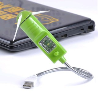 USB вентилятор универсальный с подсветкой
