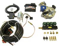 Комплект STAG-4 Q-BOX BASIC, ред. Tomasetto Alaska, форс. Valtek 3 Ома, фильтр 1-1, штуцера