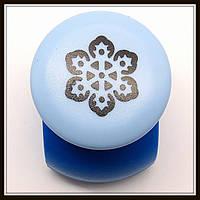 Дырокол фигурный Цветок 3D кнопка 2,5 см