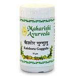 Кайшори гугул, Kaishora Guggulu (25 gm) 100 таблеток, Махариши Аюрведа