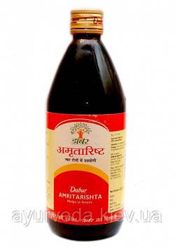 Маха Манджиштьяди Ришта - кровоостанавливающее, месячногонное, вяжущее, мочегонное, рассасывающее камни