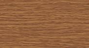 217 Дуб темный - плинтус напольный с кабель каналом 55 мм коллекции Комфорт Идеал