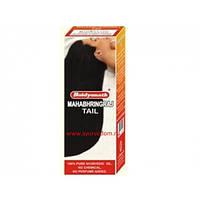 Махабрингарадж масло (100ml) преждевременное поседение или облысение, алопеция, зуд головы, беспокойство, бесс