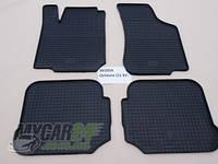 Резиновые ковры в салон SKODA Octavia Tour 00- (LUX) кт-4 шт.
