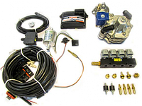 Комплект STAG-4 Q-BOX PLUS, ред. Artic 160 л.с., ДТР, форс. Valtek тип 30, штуцера, ф. 1-1