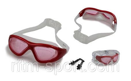 Очки (полумаска) для плавания SAILTO QY9110, фото 2