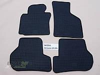 Резиновые ковры в салон Volkswagen Jetta 05- (LUX) кт-4 шт.