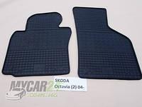 Резиновые ковры в салон перед. Volkswagen Golf V 03- (LUX) кт-2 шт.