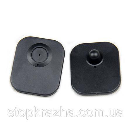 Жёсткий противокражный радиочастотный датчик для магазина (Мини бирка для одежды)