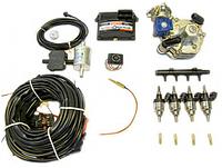 Комплект STAG-4 Q-BOX PLUS, ред. Tomasetto Alaska, форс.Hana Single червоні, распред, фільтр 1-1