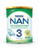 Nestle Молочная смесь NAN Кисломолочный 3,  400 г