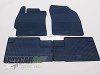 Резиновые ковры в салон Toyota Auris 07-/13- (LUX) кт-4 шт.