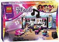 Конструктор Brick Friends Студия звукозаписи поп звезды 10403
