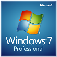 Операционная система Microsoft Windows 7 Pro SP1 32bit/64bit English GGK (6PC-00020)