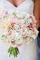 Свадебная флористика, свадебный букет, бутоньерка, оформление цветами