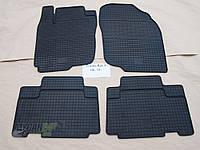 Резиновые ковры в салон Chery Tiggo (Т11) 06- (LUX) кт-4 шт.