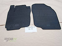 Резиновые ковры в салон перед. Chery Tiggo (Т11) 06- (LUX) кт-2 шт.