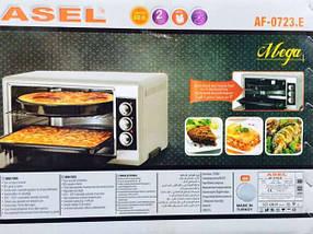 Электрическая духовка ASEL  AF - 0723  RED  объёмом 50 литров Турция, фото 2