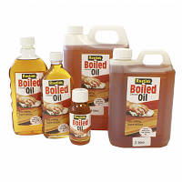 Кипяченое льняное масло (олифа) BOILED LINSEED OIL   500мл