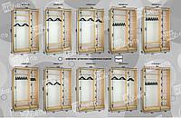Варианты наполнения шкаф-купе 1500-1600